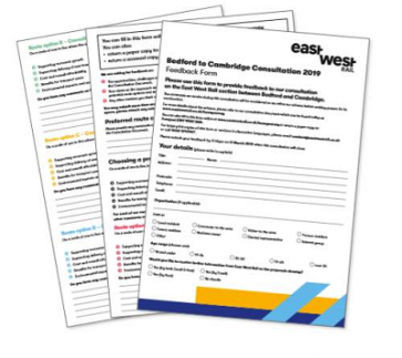 Consultation feedback form - pages 1 to 3