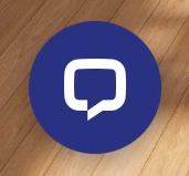 The chat room speech bubble