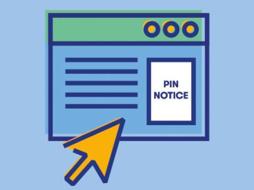 Pin Notice