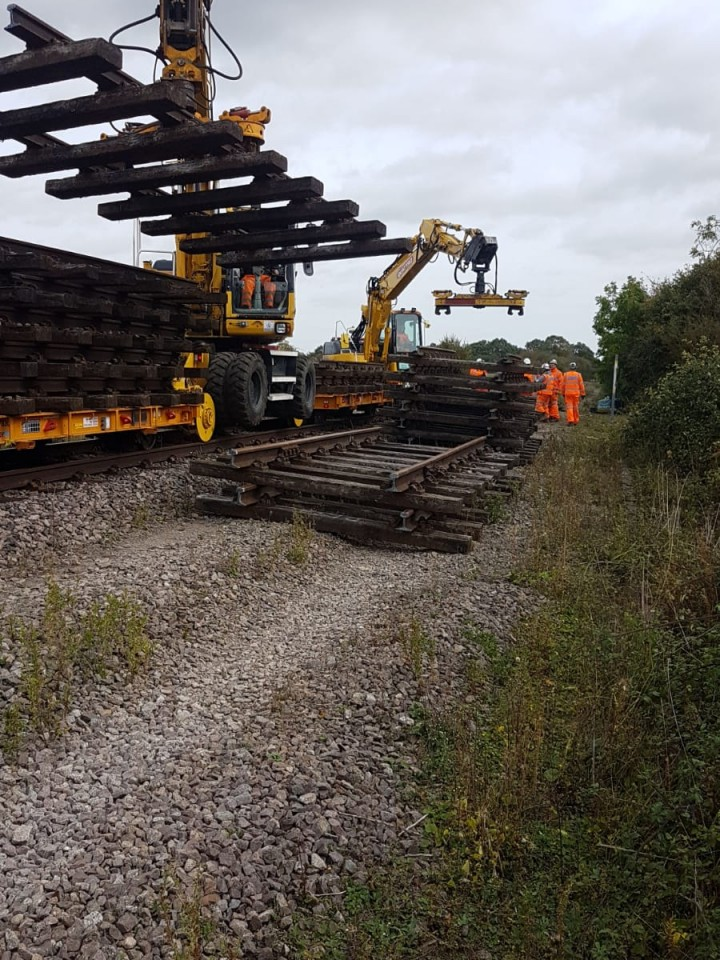 Bicester to Bedford (Western Section Phase 2) - Work so far